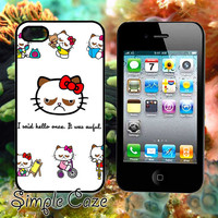 Hello No Kitty,Accsessories,Case,Cell Phone,iPhone 4/4S,iPhone 5/5S/5C,Samsung Galaxy S3,Samsung Galaxy S4,Rubber/412Q2