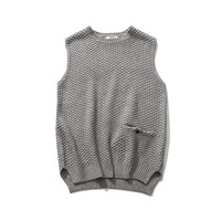 Mens Casual Knitted Style Sweater Vest