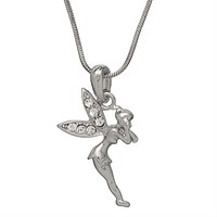 Arched Winged Fairy Necklace