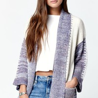 Billabong By Your Side Marled Cardigan - Womens Sweater -