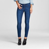 Women's Mid Rise Skinny Jean Blue Wash - Mossimo®
