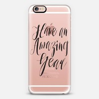 Have an Amazing Year iPhone 6s Plus case by Sara Eshak | Casetify
