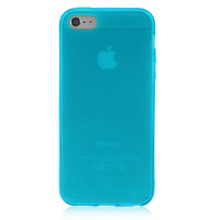 Light Blue Solid Color Case For iPhone 5 & 5S