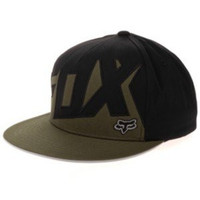 Fox Racing Mens Projector Snapback Adjustable Hat One Size Army