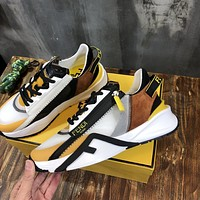 FENDI2021Men Fashion Boots fashionable Casual leather Breathable Sneakers Running Shoes08180cx