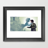 """""""Just wanted to say... Hello..."""" Framed Art Print by MarieLikesToDraw"""