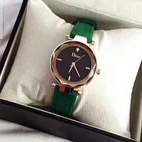 Dior Woman Men Fashion Quartz Movement Watch