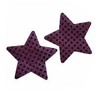 Star Purple Sparkly Pasties