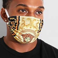 VERSACE FENDI Best-Selling Men Women Trending Breathable Print Mask