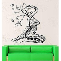 Wall Sticker Vinyl Decal Abstract Beautiful Girl Woman Tree Cool Decor Unique Gift (ig2210)