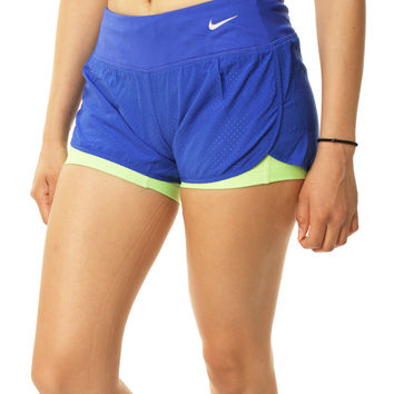 Nike Women's Dri-Fit Stay Cool 2-In-1 Running Shorts