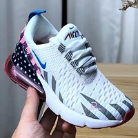 Nike Air Max 270 Girls Boys Children Baby Toddler Kids Child Breathable Sneakers Sport Shoes