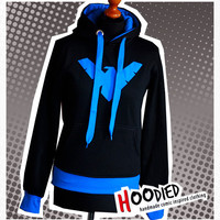 DICK GRAYSON nightwing young justice hoodie
