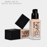 Makeup WaterProof Matte Foundation Oil-Free Nake Brigten Liquid Foundation Good Quality Long-Lasting Moisturizer Foundation 30ML