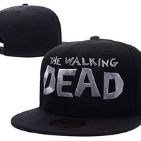 RHXING The walking Dead Logo Adjustable Snapback Embroidery Hats Caps
