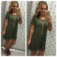 To a Tee Tunic: Olive