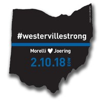 #ThinBlueLine Westerville Police Support Sticker Decal Packs