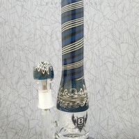 War Head B24 Water Pipe by Bent Glass Works