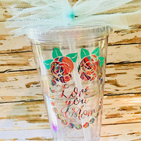 Gift for mom, Tumbler, Mother's Day gift