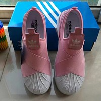 Adidas Casual Old Skool Cross Flats Sneakers Sport Shoes