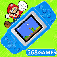 CoolBaby RS-83 2.5'' LCD 268 8bit NES Classsic Games Contra Portable Handheld Video Game Player Console Kids Toys Gifts