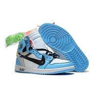 Air Jordan 1 X Off-white North Carolina Sport Sneaker