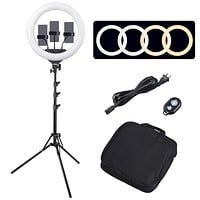 "18"" LED Ring Light w/ Stand - SCR1042"