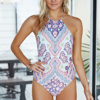 Billabong Luv Lost Halter One Piece Swimsuit at PacSun.com