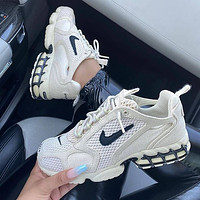 Nike Air Zoom Spiridon Cage 2 /Stussy Anti Wear And Cushioning Retro Daddy Running Shoes