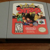 Pokemon snap Nintendo n64 64 system console game -FREE SHIPPING -Christmas holiday gift pikachu