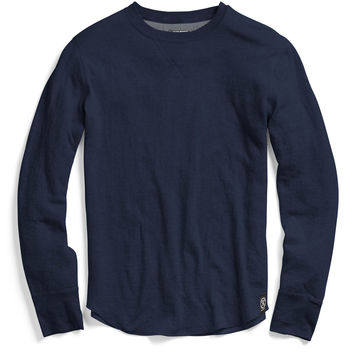 Double Layer Longsleeve T-Shirt in Navy