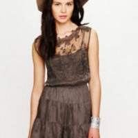 Free People Embroidered Shortie Jumpsuit at Free People Clothing Boutique