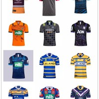 LISM2018 nrl T-shirt rugby league NEWCASTLE FALCONS leeds rhinos Brisbane Broncos home away rugby jerseys football jerseys size