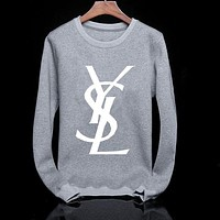 YSL men's fashion sweater pullover F