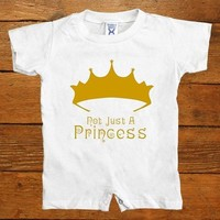 Not Just A Princess -- Baby Onesuit