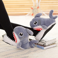 Cotton Winter Lovely Thick Crust Animal Slippers [9651107855]
