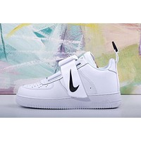 Air Force 1 low utility military function pure white