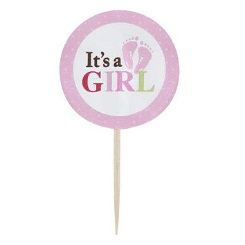 Fun Pix Cupcake Picks - It's a girl!