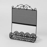 Standing Jewelry Holder with Mirror Tray | Claire's