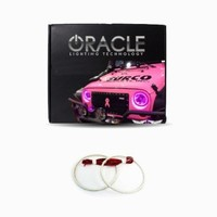 Oracle Lighting JE-WR0713-PK - Jeep Wrangler LED Halo Headlight Kit - Pink