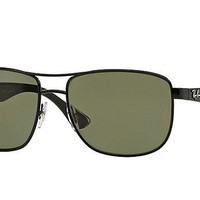 Ray Ban Green Sunglasses RB3533 002/9A 57