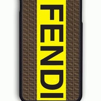 iPhone 6 Case - Rubber (TPU) Cover with fendi logo Rubber Case Design
