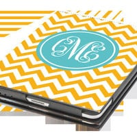 iPad Mini Case  Chevron Personalized Monogram by ThePreppyLadybug