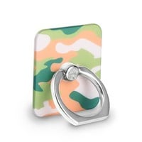 Olive Camo Ring by Kendall Vertes