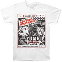 Rob Zombie Men's  Den Of Living Nightmares T-shirt White