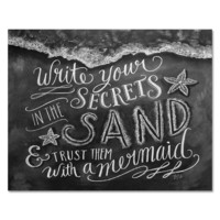 Secrets in the Sand - Print & Canvas