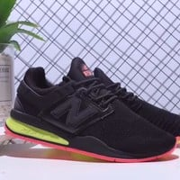 """New Balance 247"" Unisex Fashion Casual Multicolor Running Shoes Couple Sneakers"