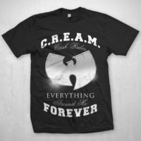 WUTANG CLAN -- CREAM CHROME -- T-SHIRTS