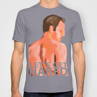 NUDE MALE I T-shirt by Fabrizio Cruz