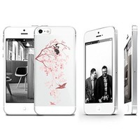 Cherry Blossom Clear Transparent Plastic Phone Case/Phone Cover for iphone 5C _ SUPERTRAMPshop (iphone 5C sl)